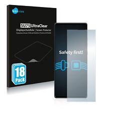 18x Displayschutzfolie für LG Wing Klar Transparent Schutzfolie Displayfolie