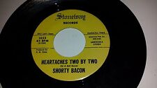 SHORTY BACON: Heartaches Two By Two / Three STONEWAY 1055 RARE TEXAS COUNTRY 45