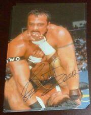 Buff Bagwell Signed 1998 WCW NWO Panini 4x6 Photo Card #59 Auto'd Autograph WWE