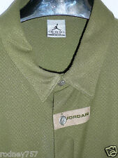 Vintage Jordan XXL 100% Cotton Shirt w/ Hidden Buttons. Old School Shirt!