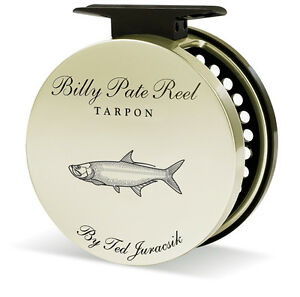 TIBOR BILLY PATE TARPON LEFT HAND 10/12 FLY REEL FREE $80 LINE BACKING SHIPPING