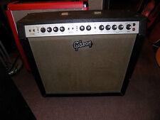 1960s Gibson GA55 RVT Ranger 4x10 Amplifier Guitar Amp vintage USA tube valve