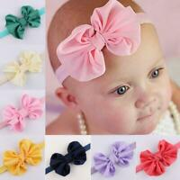 Newborn Chiffon Baby Oversize Bow Knot Hair Band Headband headwear