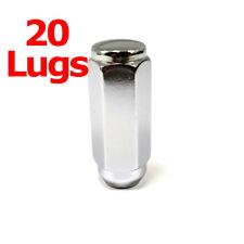 "20x Excalibur 3204HD Lug Nuts 1/2"" Acorn 7/8"" Hex Chrome 2.4"" Duplex XL XX Lng"