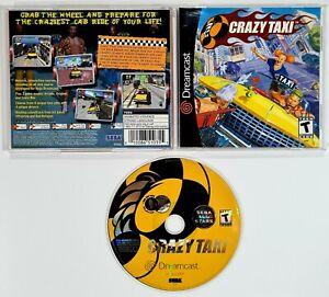 SEGA Dreamcast CRAZY TAXI us NTSC Ovp 3D Arcade Racing/Offspring/Bad Religion
