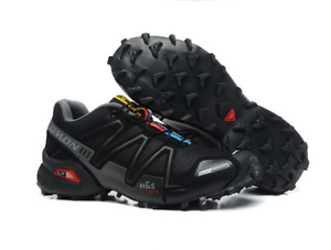 Hot Sale Men's Salomon Breathable Trail Running Shoes Comfortable Outdoor