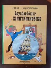 Tintin -  TINTIN ISLANDAIS Le secret de la licorne FJÖLVI 2003 NEUF RARE!!!