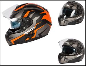 Spada SP16 Voltor Full Face Motorcycle Motorbike Crash Helmet EC2205 approved