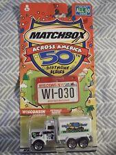 MATCHBOX CAR ACROSS AMERICA 50TH BIRTHDAY WISCONSIN 030 DIE CAST CAR PETERBILT
