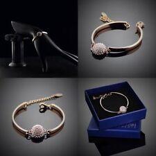 Modeschmuck-Armbänder aus Rosegold mit Perlen (Imitation)