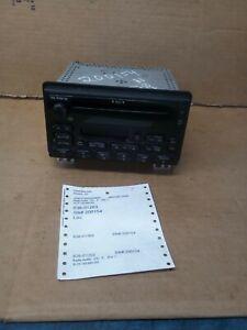 2002-2005 FORD EXPLORER RADIO 3L2T-18C868-DC 638-01263