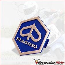 SCUDETTO FREGIO STEMMA ESAGONALE TIPO ORIGINALE PIAGGIO VESPA PK XL RUSH 50 1989