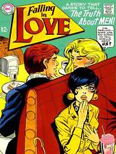 VINTAGE COMIC COVER FALLING IN LOVE NEW FINE ART PRINT POSTER CC4961