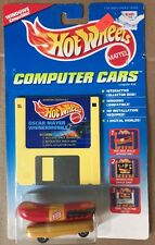Hot Wheels Oscar Mayer Wienermobile Diecast Car Computer Cars With Floppy Disk