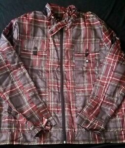 Mens Vintage AKADEMIKS Lightweight Windbreaker Zipper Urban Jacket Size 2XL