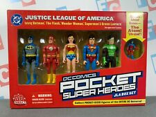 DC Direct Pocket Super Heroes JLA Box Set Batman Flash Wonder Woman Superman