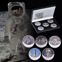 WR 2019 50e anniversaire Pièce d'argent APOLLO 11 Moon Landing avec boîte