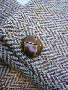 HARRIS TWEED Sakko Sportjacke >>Gr. 50 - M<< 100% Wolle Vintage