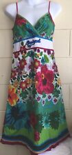 Desigual Floral Summer Dress Size 36 or XS