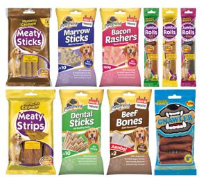 Dog Treats Munch & Crunch Tasty Dog Chews Dog Treat Bites Dental Stick Rolls U.K