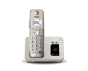 Panasonic KX-TGE220JTN, Cordless con Segreteria Telefonica, Ricondizionato