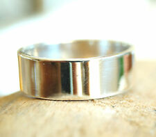 7 mm Massiv Silberring 59 62 65 Silber Ring Bandring Schlicht Ehering glanz matt