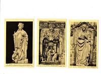CPA 01 Ain Bourg Eglise de Brou lot de 3 cartes