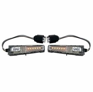 Set Front Left & Right Genuine Mirror Turn Signal Lights for BMW E61 E62 E63 E64