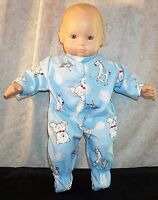 """Doll Clothes Baby Made 2 Fit American Girl 15"""" inch Bitty Pajamas Rocking Horse"""