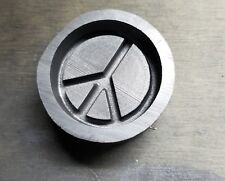 Graphite Mold: Peace Sign Cab - 50mm