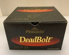 Pinnacle Deadbolt Limited DTF 35 Long Cast Spool Box and Instructions NO REEL