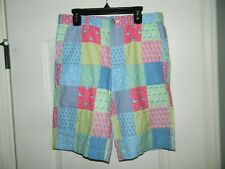 Boy's Vineyard Vines Printed Patchwork Breaker Shorts Size 16-NWT
