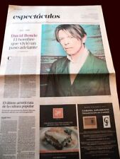 David Bowie - Death - La Nacion newspaper Argentina