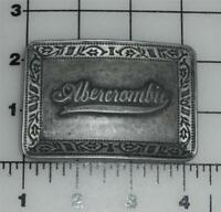 NEW ABERCROMBIE & FITCH METAL BELT BUCKLE