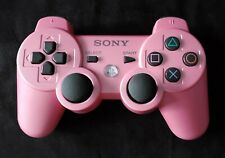 Genuine Sony Playstation 3, DualShock 3 SIXAXIS Controller - Pink - Adult Owned