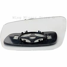 Left Passenger Side HEATED WING DOOR MIRROR GLASS For VW Golf MK4 96-04 Clip On