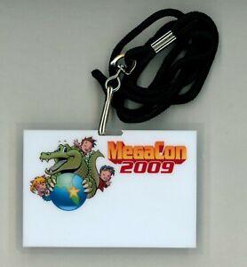 Mega Con Orlando Florida 2009 Pass / Badge