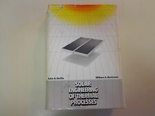 Solar Engineering of Thermal Processes 1980 Energy Collectors Heating Design