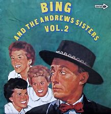 Bing Crosby & The Andrew Sisters Vol.1&2 (Vinyl, Ex.Cond., 1972, CPS80/91)