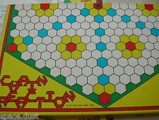 CHAIN REACTION GAME - 1982 - HAJJAR - GAME OF NUMBERS,ALPHABETS & SIX IN A ROW