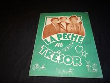 LA PECHE AU TRESOR Love Happy  marx brothers Marilyn Monroe scenario cinema 1949