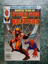 Marvel Team-Up #117 Newsstand Fn/Vf (Marvel Comics) Spider-man & Wolverine Cover