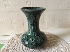 Vintage Fosters Art Pottery Vase Drip Glaze English
