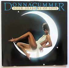 DONNA SUMMER - FOUR SEASONS OF LOVE - 1977 GERMANY - VINYL LP ALBUM - NB 7036