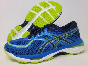 ASICS Men's Gel-Cumulus 19 Running Shoe, Blue/Peacoat/Energy, 6.5 D(M) US
