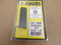 Browning Model 1910 380 ACP Magazine by Triple K #9M