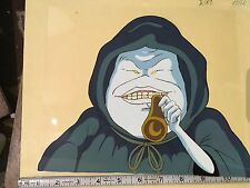 Real Ghostbusters Animation Cel  Ghost Smoking/+ Pencil Art