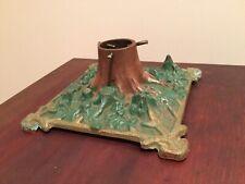 ~RARE~Vintage Cast Iron Christmas Tree Stand~Original Paint~