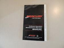 2010 Mercury 8 / 9.9 hp PS 2Zyl-4Takt owner s manual Betriebs anleitung Handbuch