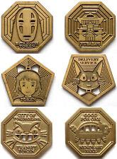 3 Bruce Yan Miyazaki Tokens Ghibli Spirited Away Totoro Kiki's Delivery Service